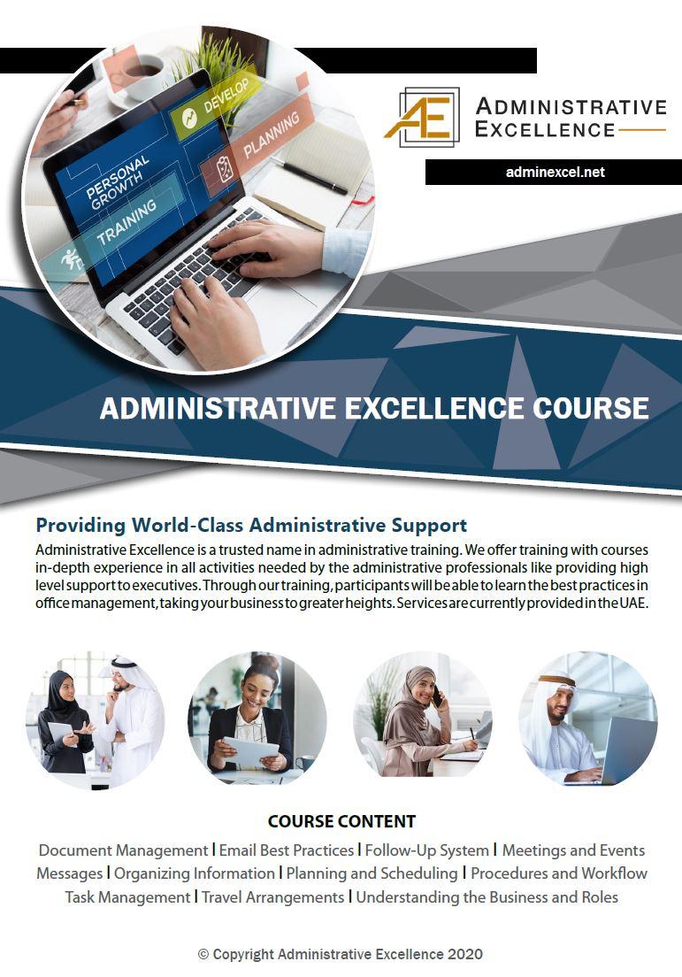 AdminExcel Course Brochure-1