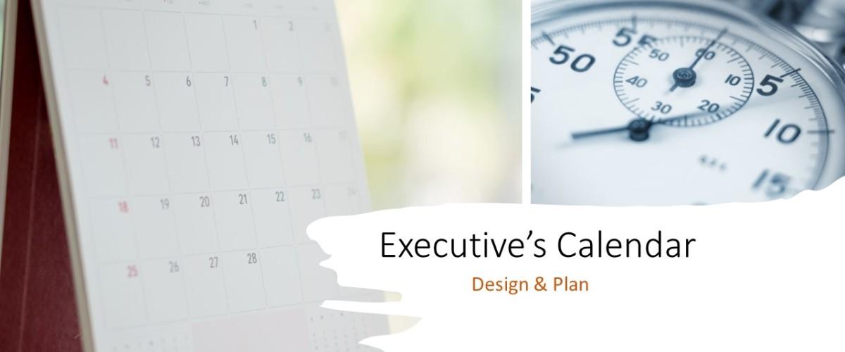 Managing Executive's Annual Calendar